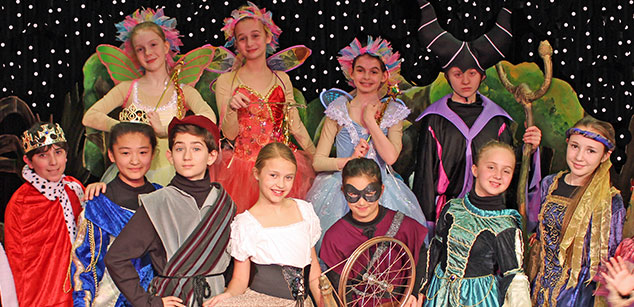 classes for kids theater sleeping beauty paper mill playhouse children