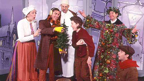 a christmas carol charles dickens paper mill playhouse for schools