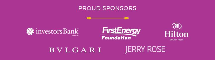 Proud Sponsors of 2018 Gala (logos)