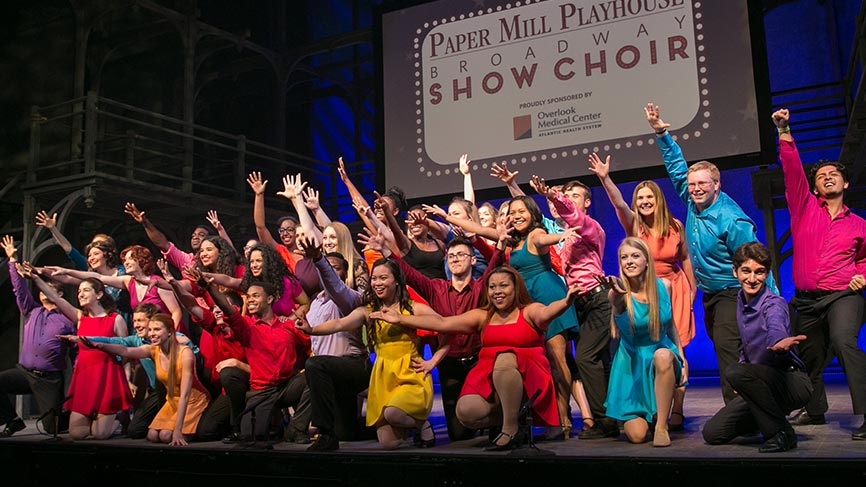 paper mill playhouse show choir