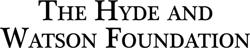 The Hyde and Watson Foundation