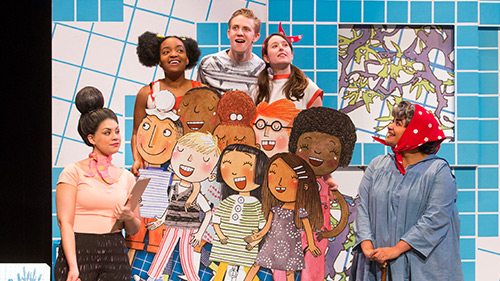 rosie revere paper mill playhouse school show